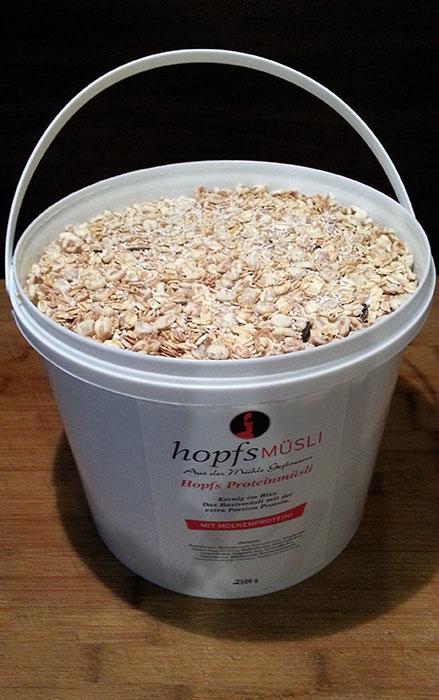 Protein müsli von Hopfs