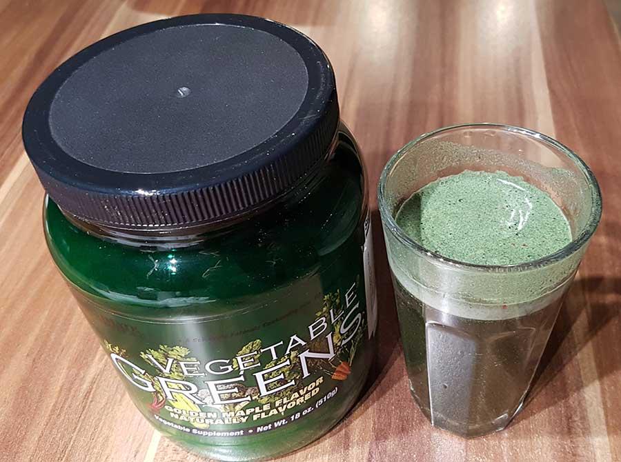 Vegetable Greens Pulver