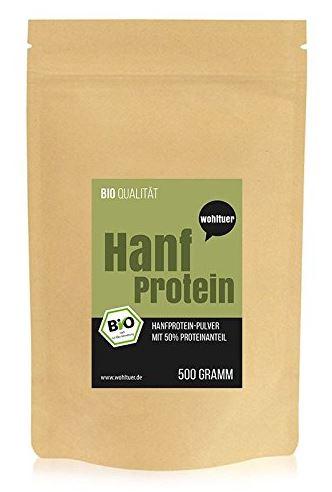 Wohltuer Bio Hanfprotein