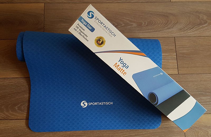 Yogamatte Yoga Star Sportastisch